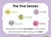Using the Senses (KS1 Poetry Unit) Teaching Resources (slide 53/59)